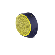 Speaker Logitech X100 Wireless Purple Yellow Grill